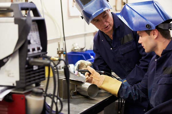 Welders get hands on experience in their training