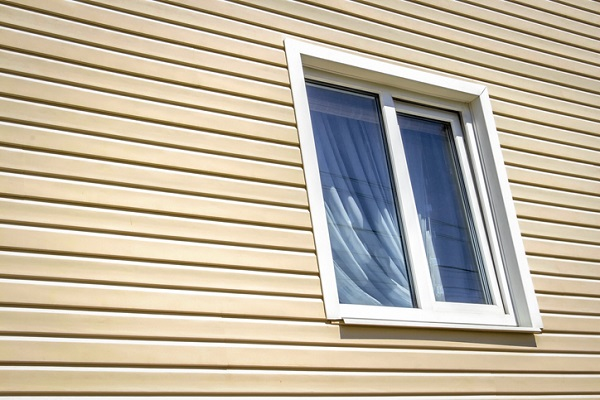 Vinyl siding is a low-maintenance option, in that it only needs occasional washing